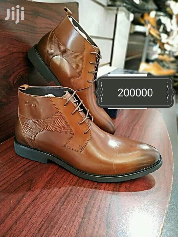 Men Gentle Leather Boot Shoes