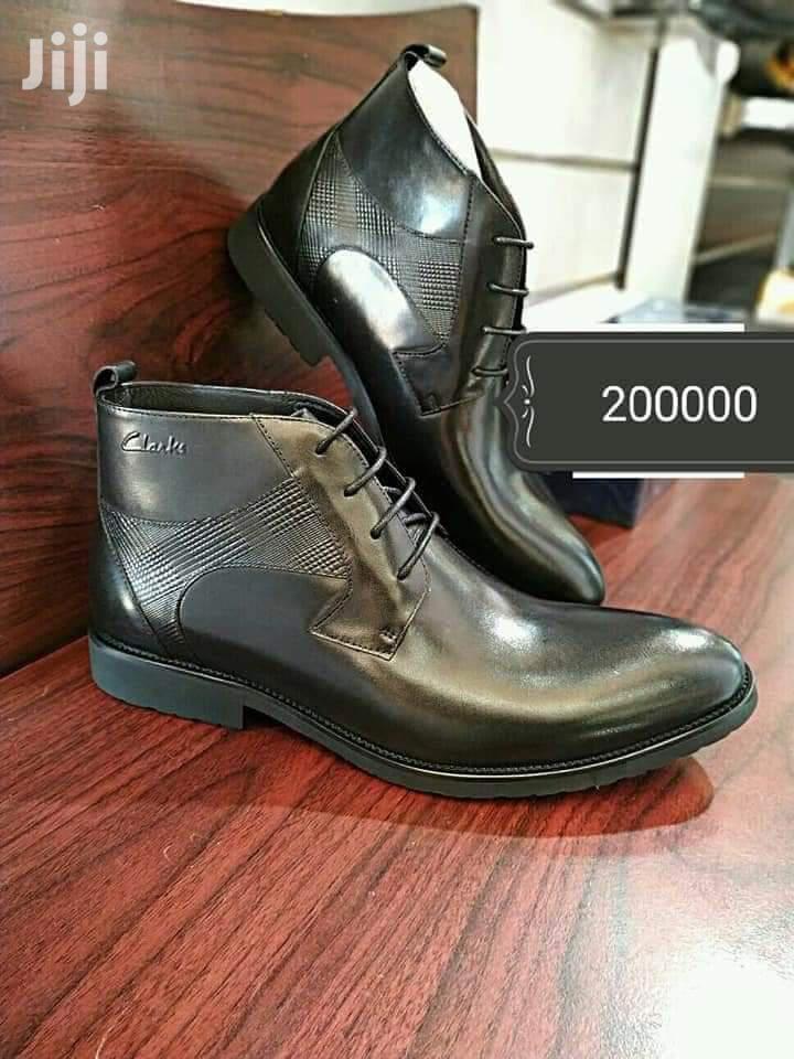 Men Gentle Leather Boot Shoes | Shoes for sale in Kampala, Central Region, Uganda