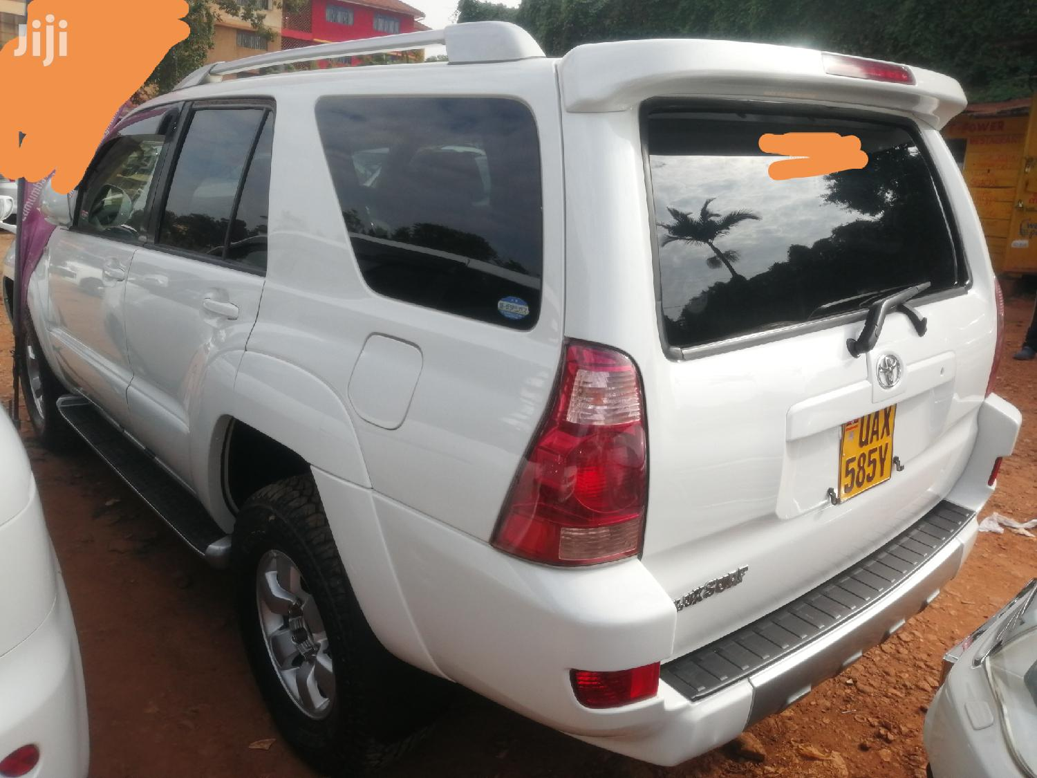 Toyota Surf 2002 White | Cars for sale in Kampala, Central Region, Uganda