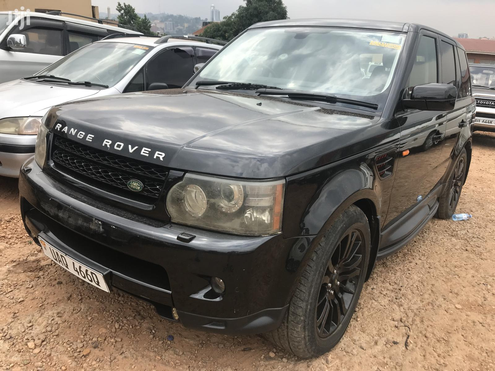 Land Rover Range Rover Sport 2010 Black