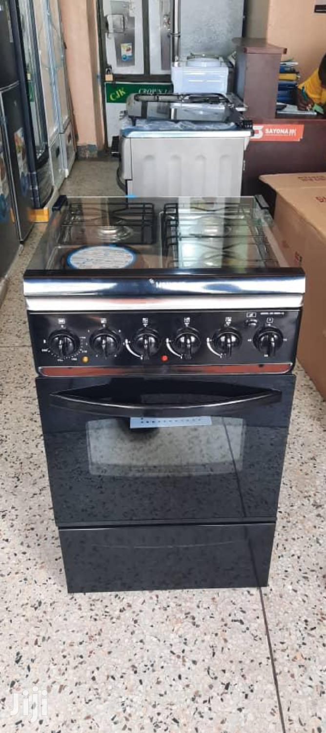 Globalstar 3 Gas Plus 1 Electric Gas Cooker