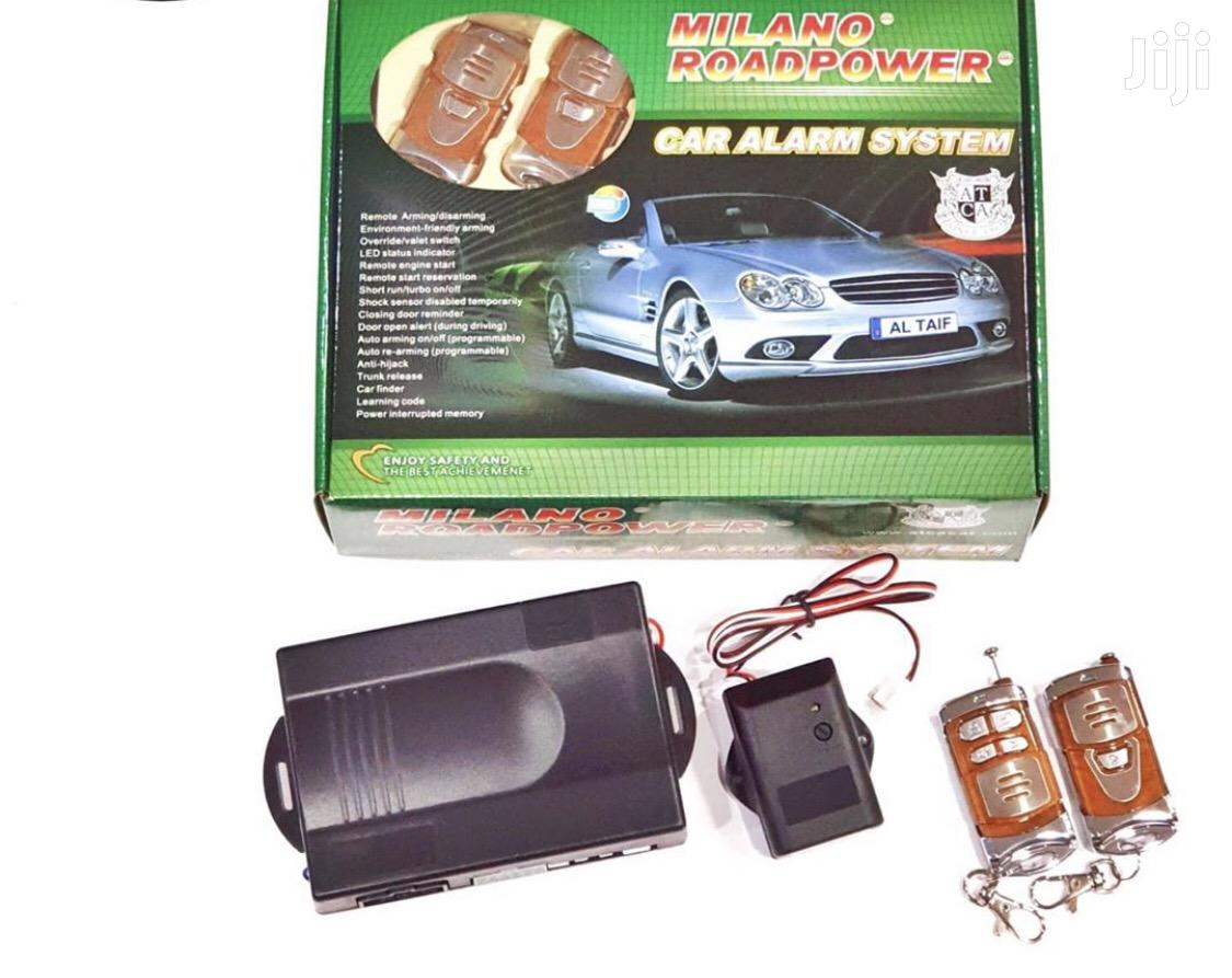 Milano Road Power Car Alarm With Engine Starter