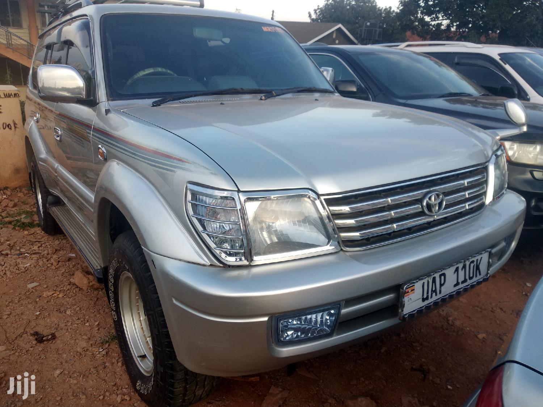 Toyota Land Cruiser 1996 Silver