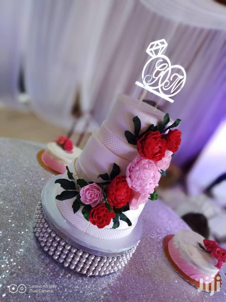 Scientific Wedding Cake
