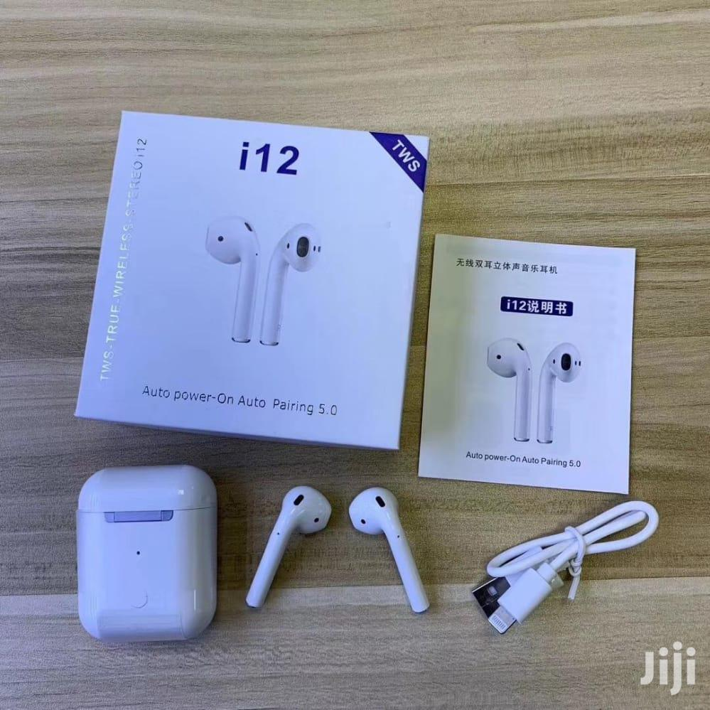 I12 Bluetooth Earpiece