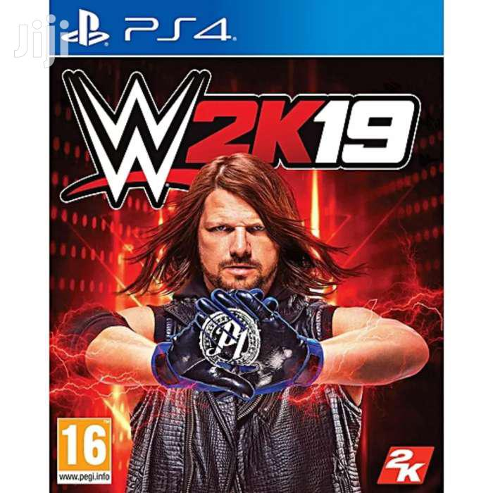 GAME WWE 2K19 PS4