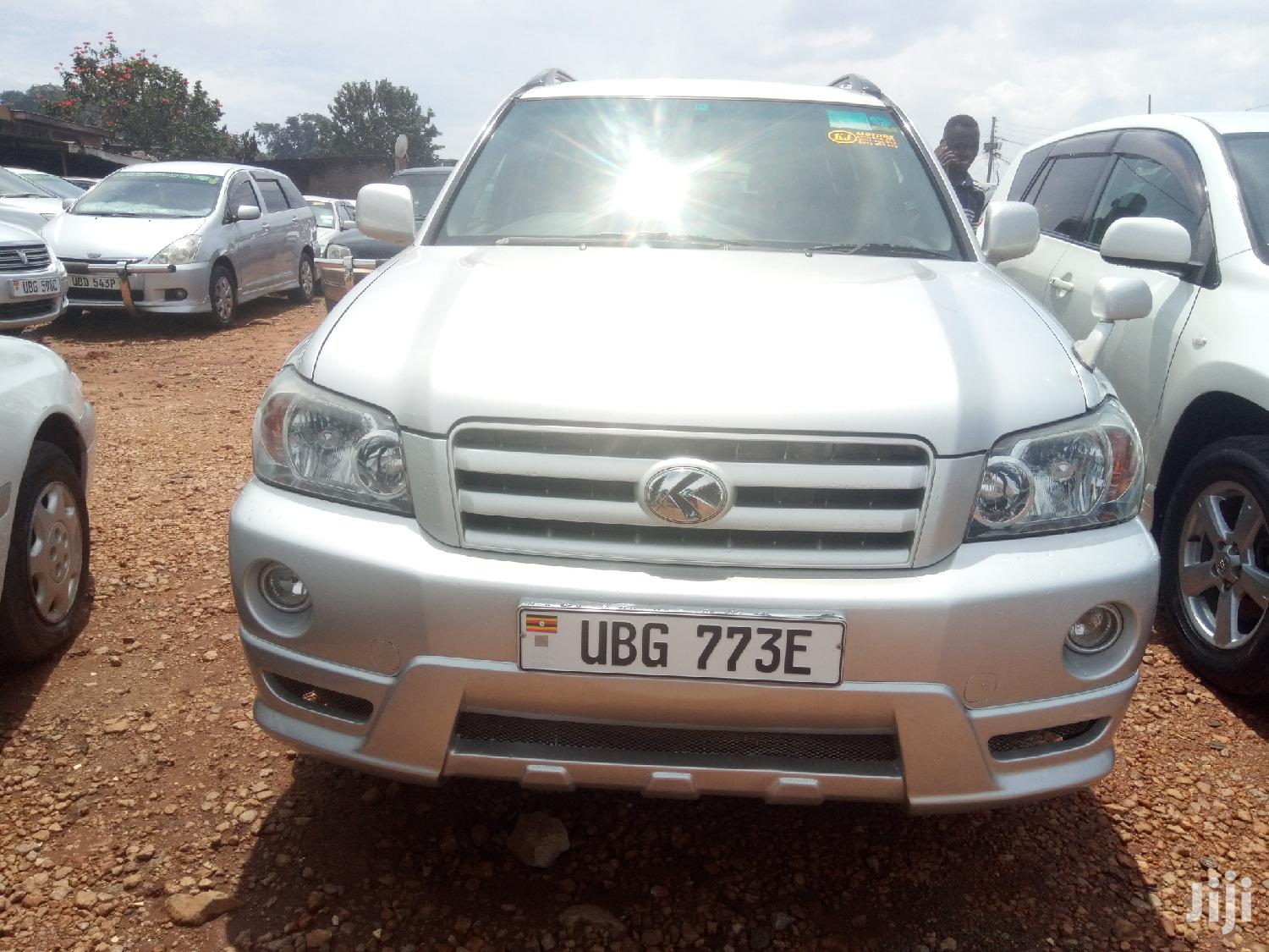 Archive: Toyota Kluger 2007 Silver