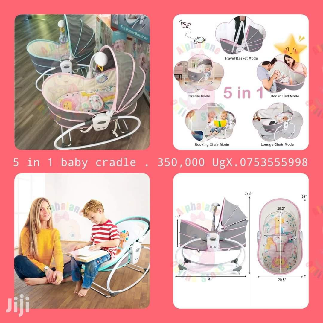 5 In 1 Baby Cradle