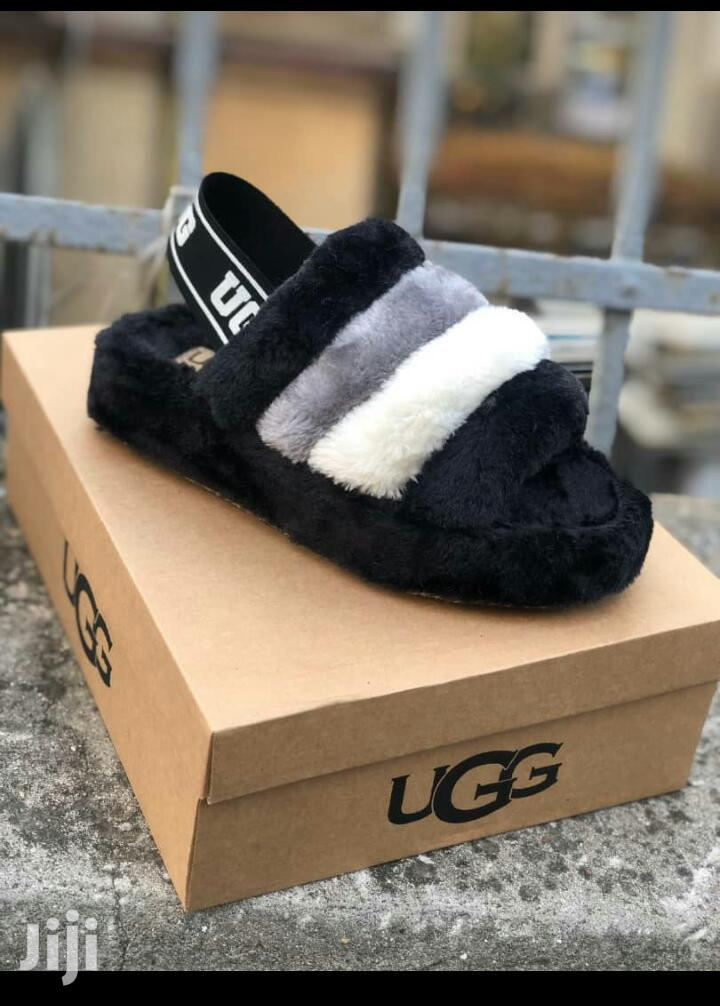 Beautiful Outdoor Fluffy Shoes Ladies | Shoes for sale in Kampala, Central Region, Uganda