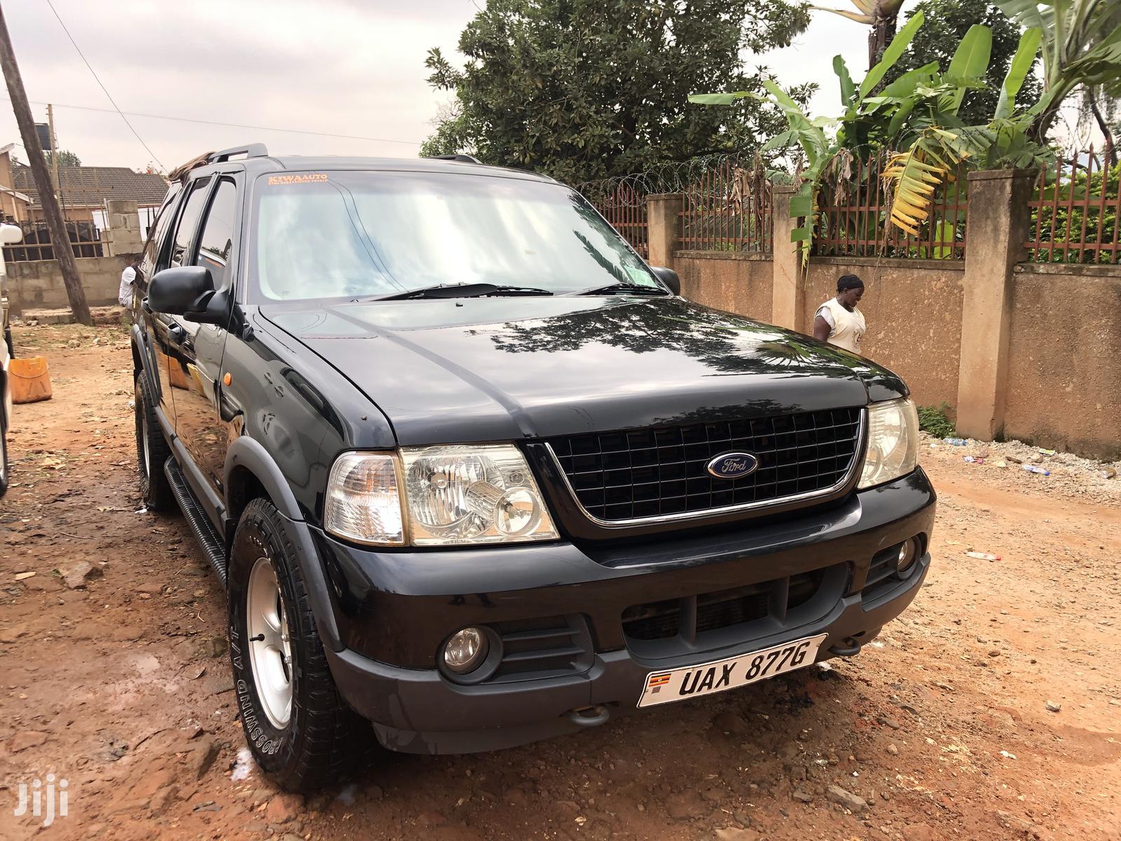 Ford Explorer 2004 Black In Kampala Cars Akram Banyikidde Jiji Ug For Sale In Kampala Buy Cars From Akram Banyikidde On Jiji Ug