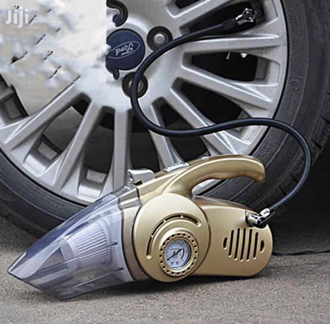 Electric Car Tyre Pump And Vacuum Cleaner