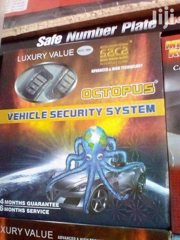 Car Alarm Octopus