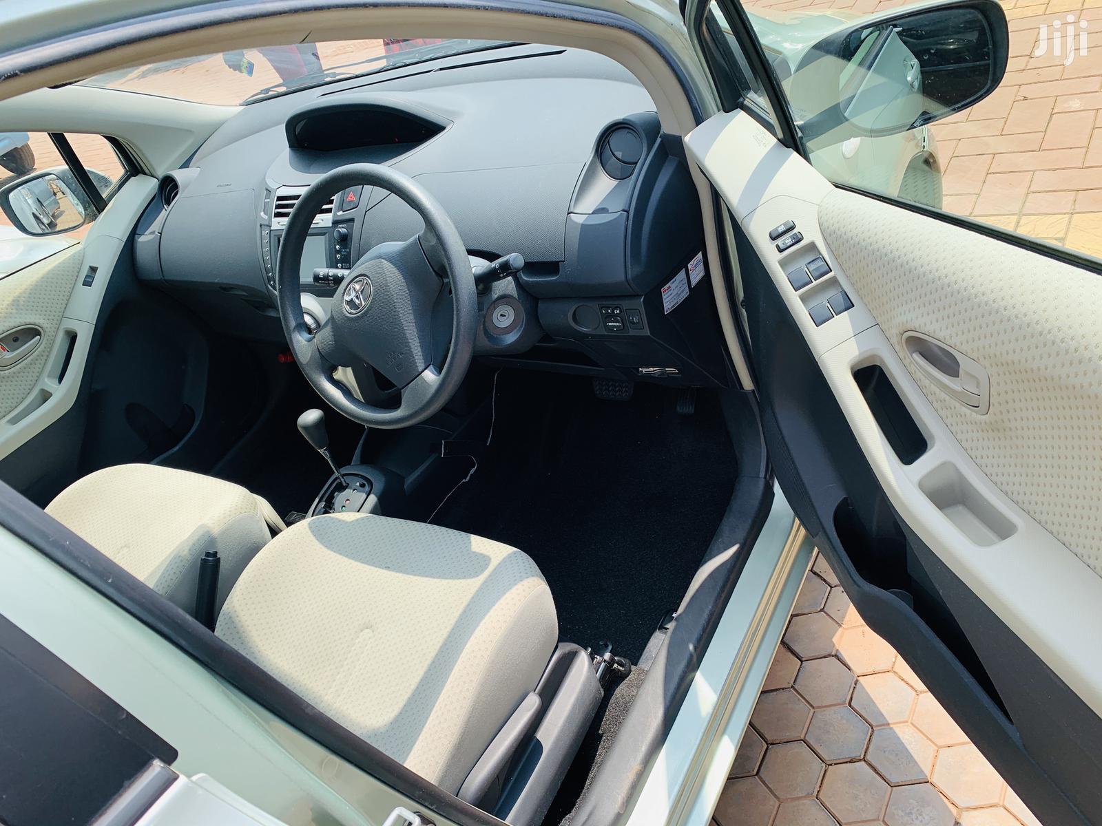 Toyota Vitz 2007 Green   Cars for sale in Kampala, Central Region, Uganda