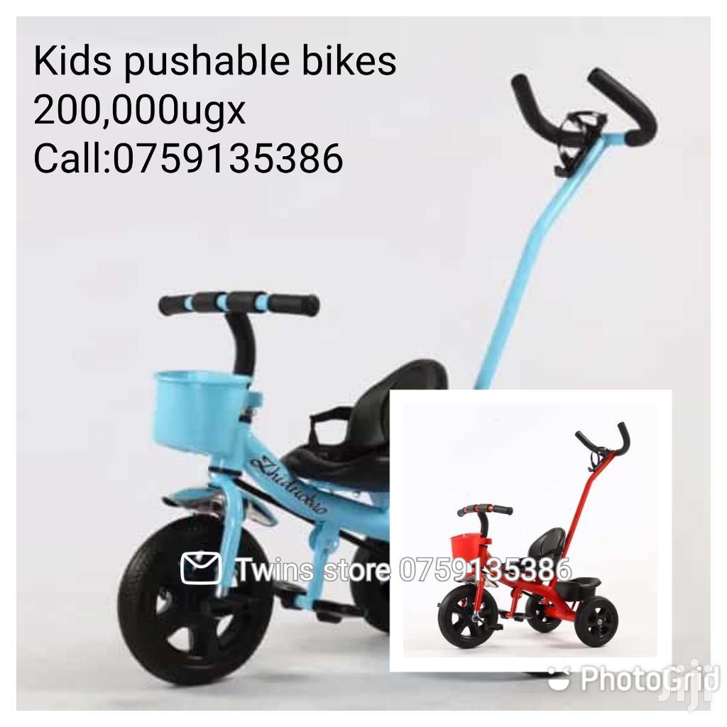Kids Pushable Bikes