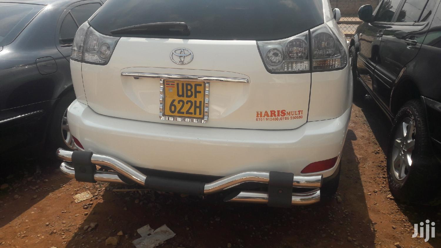 Toyota Harrier 2005 White | Cars for sale in Kampala, Central Region, Uganda