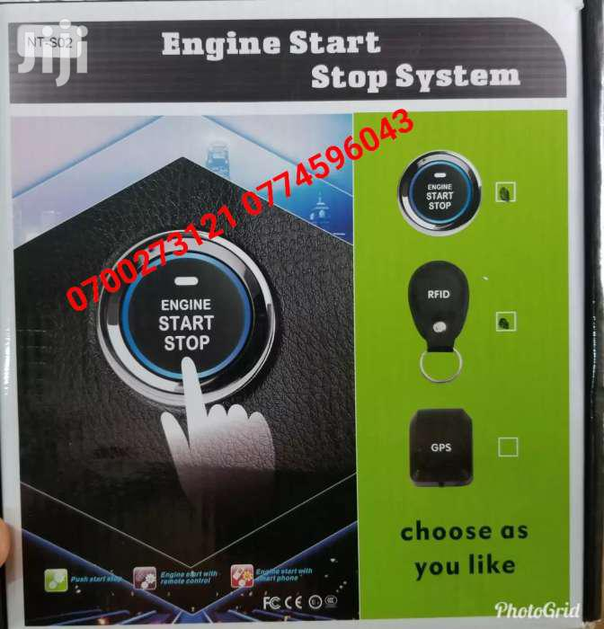 Push And Start Engine For  Cars New Model