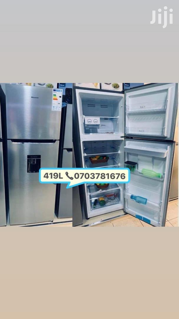 Hisense Fridge 419 Litres With Dispenser Frost Free