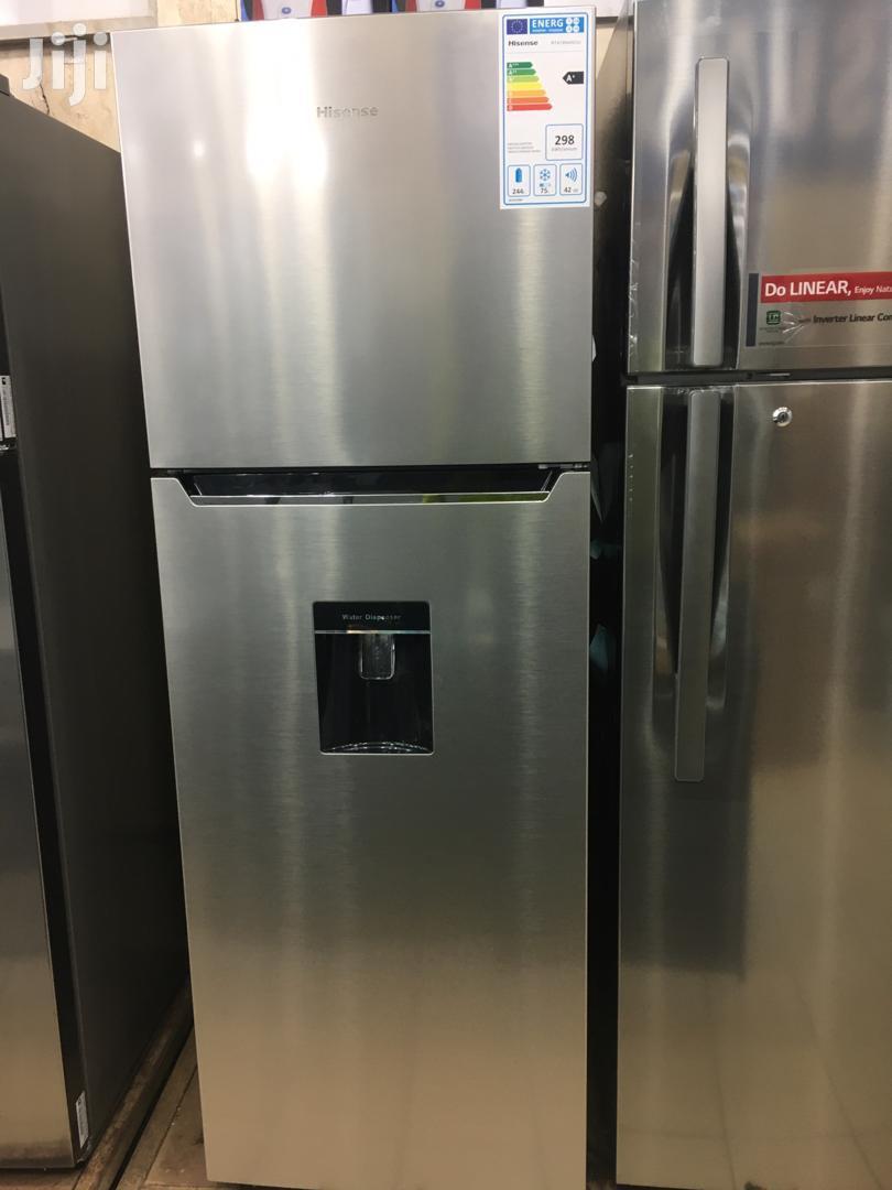 Hisense Fridge 419 Litres With Dispenser Frost Free | Kitchen Appliances for sale in Kampala, Central Region, Uganda