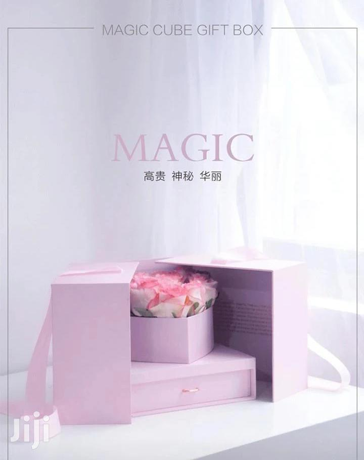 Magic Cube Flower Box With Gift Drawer   Arts & Crafts for sale in Wakiso, Central Region, Uganda