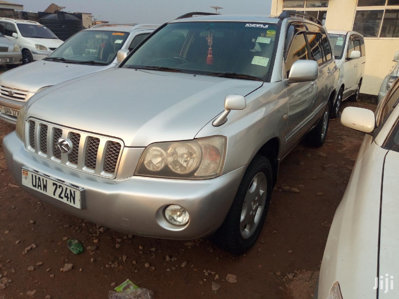 Toyota Kluger 2001 Silver | Cars for sale in Kampala, Central Region, Uganda