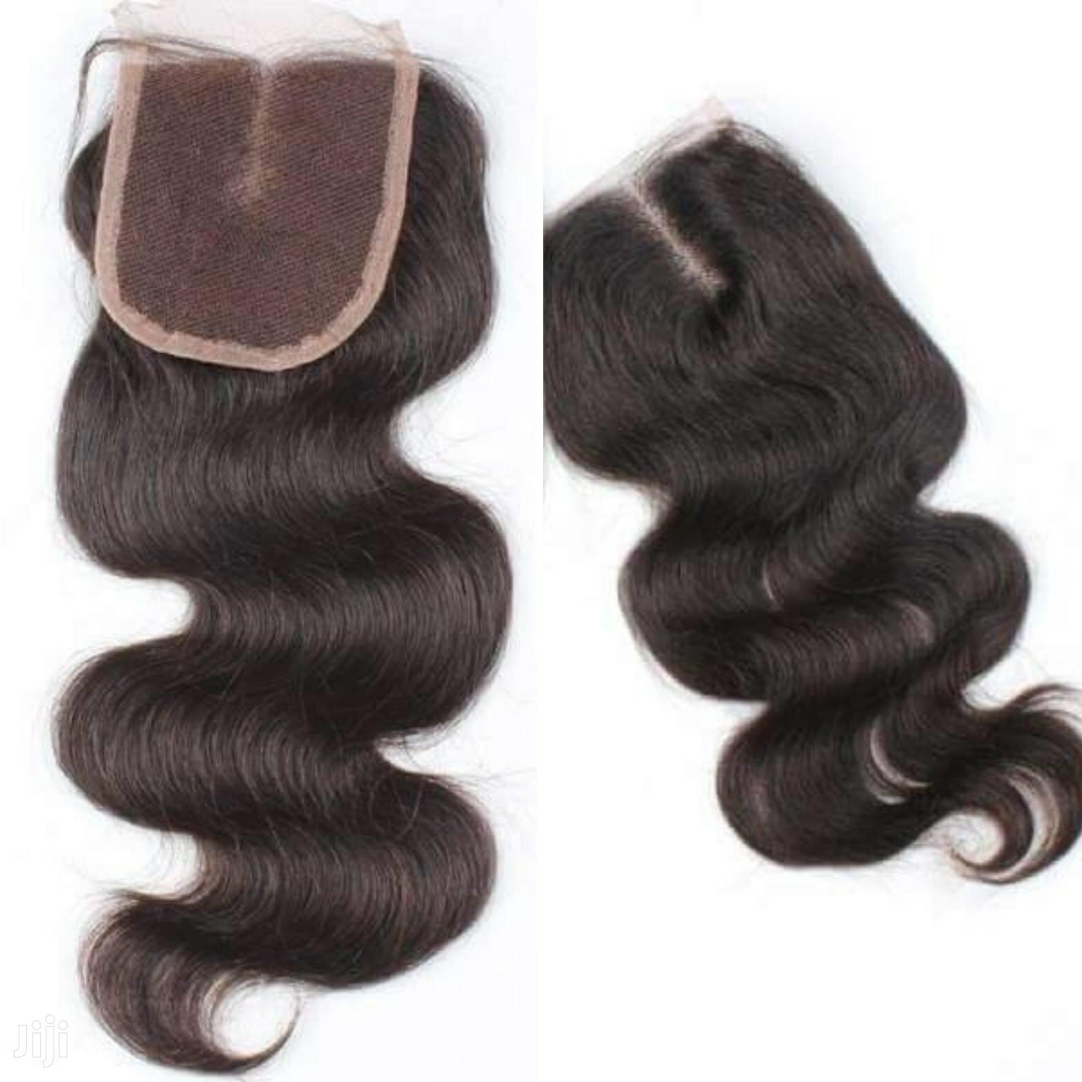💯 Human Hair Closures