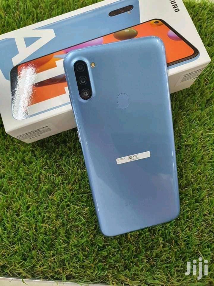 New Samsung Galaxy A11 32 GB Blue | Mobile Phones for sale in Kampala, Central Region, Uganda