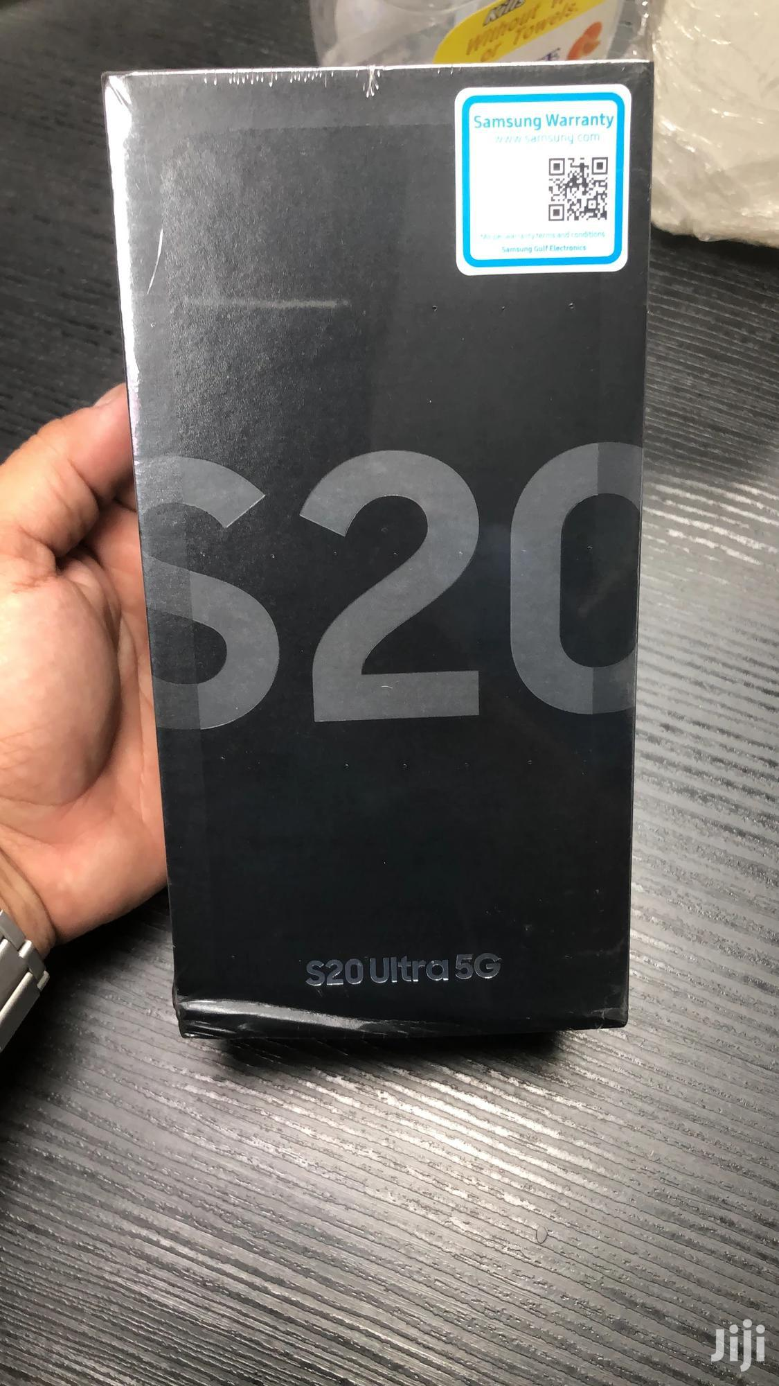 New Samsung Galaxy S20 Ultra 128 GB Black