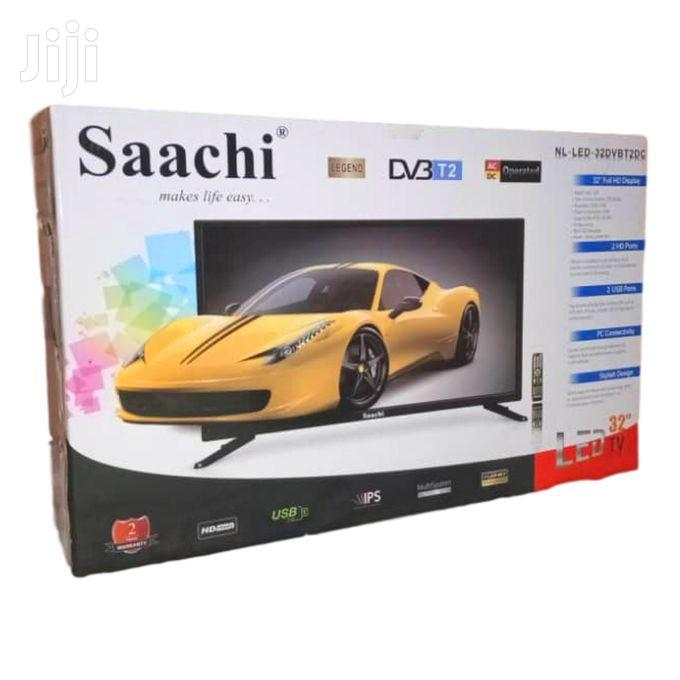 Saachi 32 Flat Screen Wth Decoder