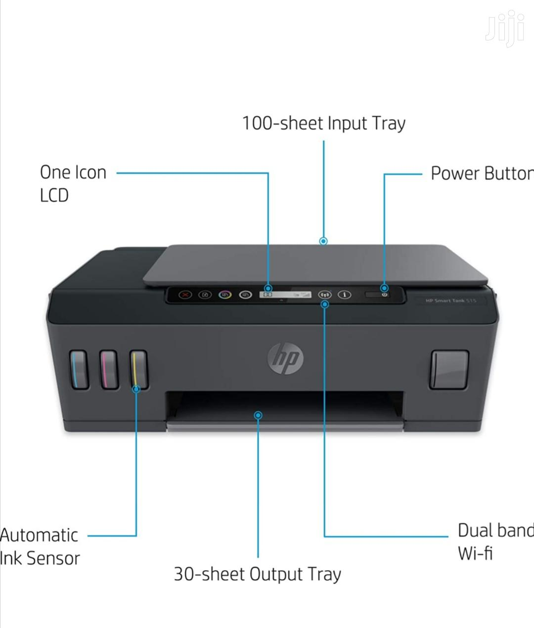 HP Smart Tank All-in-one Wireless & Voice Colour Printer | Printers & Scanners for sale in Kampala, Central Region, Uganda