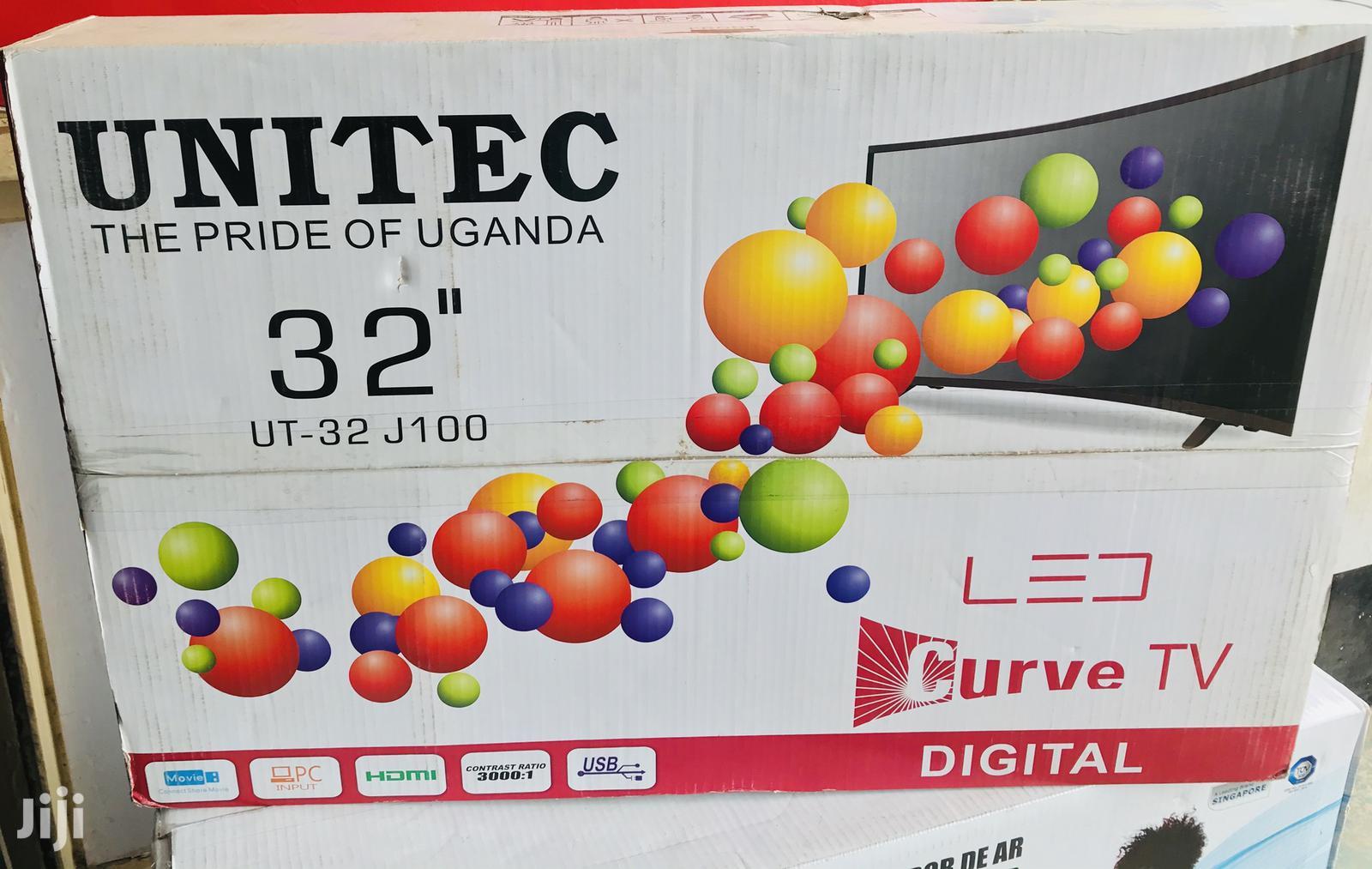 "Unitec Curve Tv 32"""