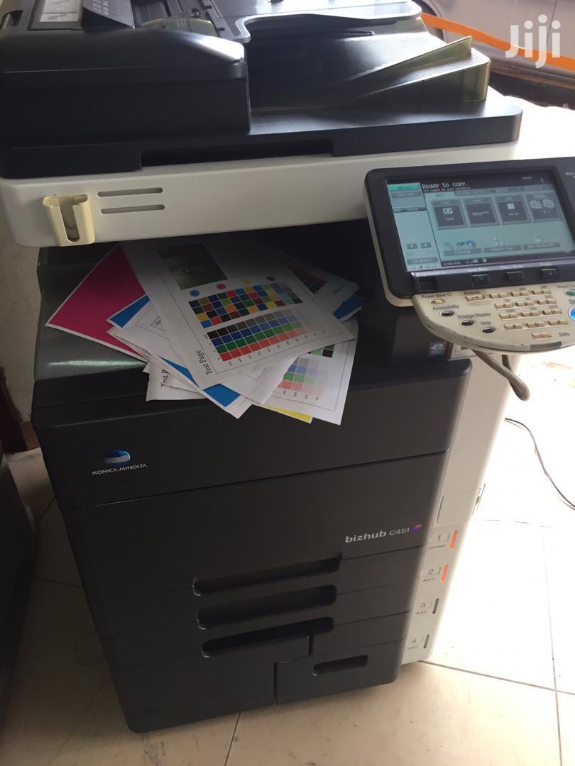 Archive: Bizhub C451 Printer