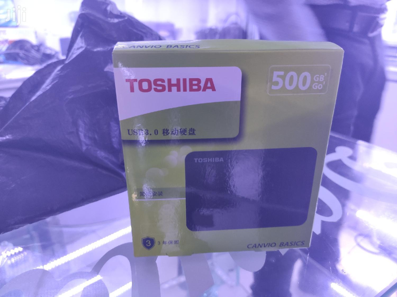 Archive: Original Toshiba 500GB External Hard Drive
