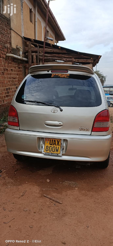 Toyota Spacio 2000 Silver   Cars for sale in Kampala, Central Region, Uganda