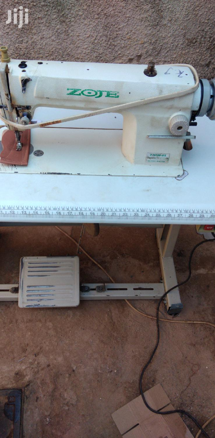 Archive: Zoje Industrial Sewing Machine