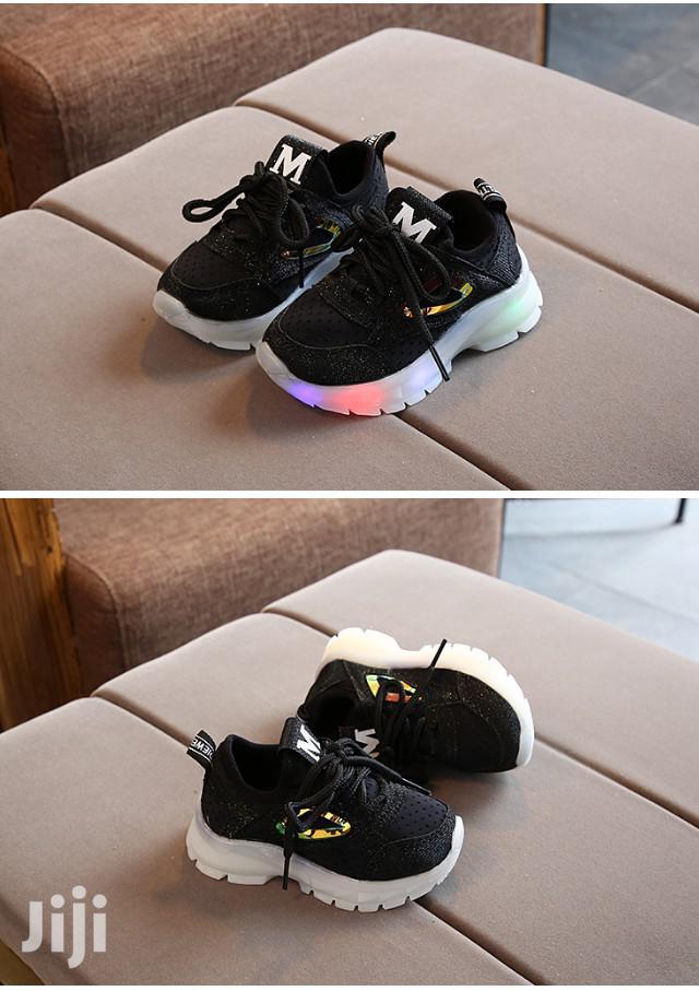 Kids Black Sneakers | Children's Shoes for sale in Kampala, Central Region, Uganda