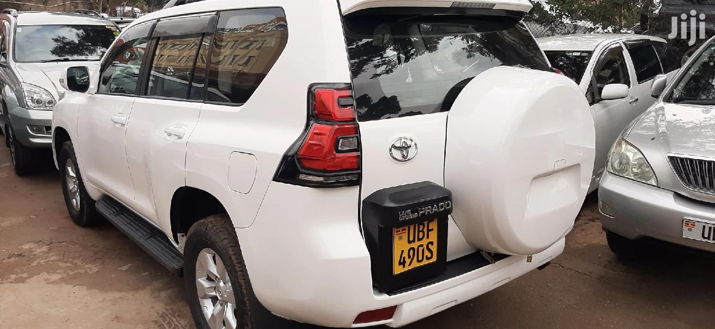 Toyota Land Cruiser Prado 2013 White | Cars for sale in Kampala, Central Region, Uganda