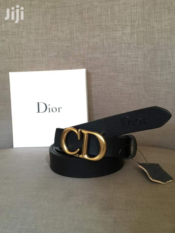 Archive: Dior Leather Belt