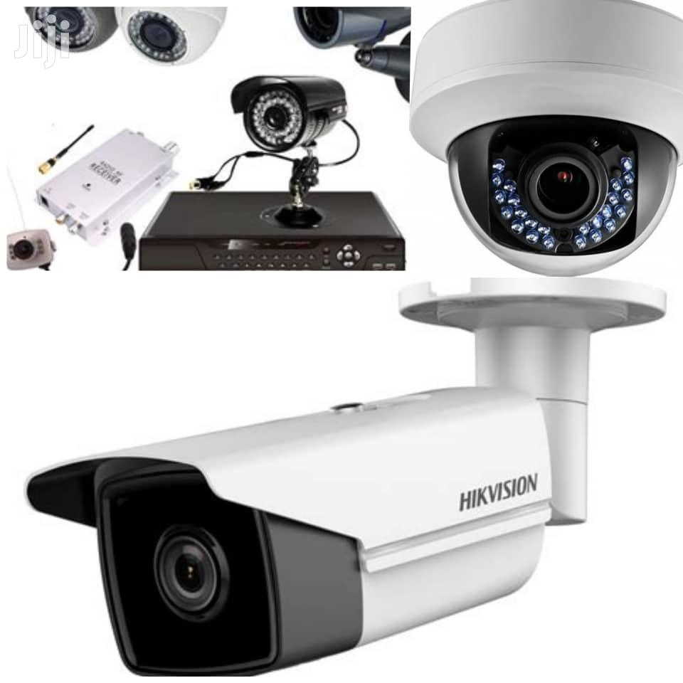 Domestic CCTV Camera Security System
