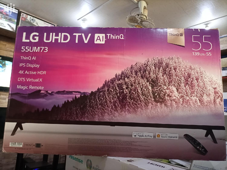 New LG Smart 4K Digital Flat Screen TV 55 Inches | TV & DVD Equipment for sale in Kampala, Central Region, Uganda