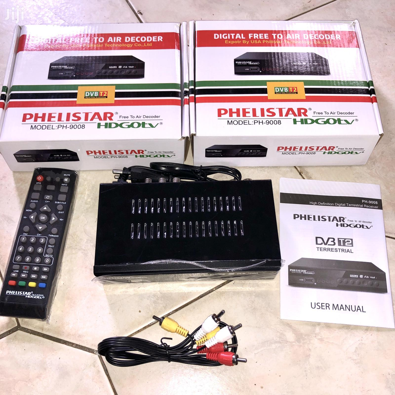 Free to Air Decoder With Usb and Hdmi