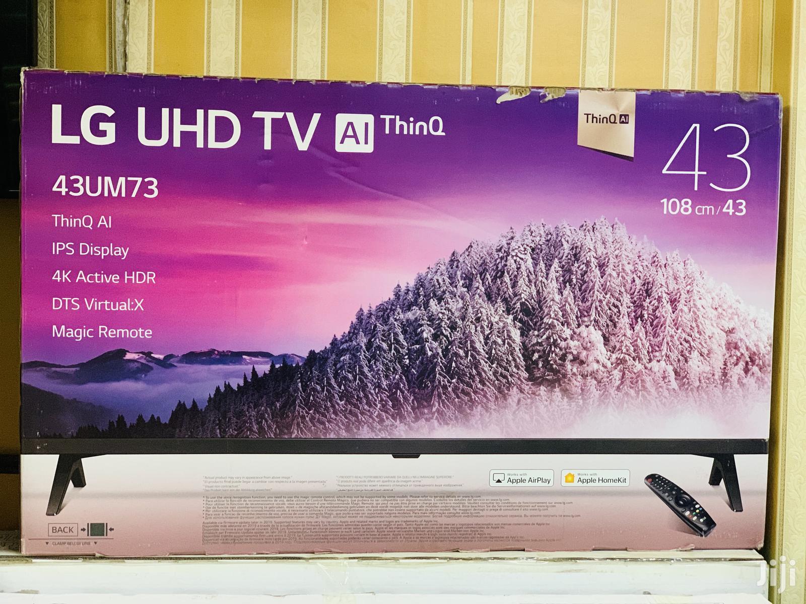 43inches LG Smart UHD 4K Smart Tv