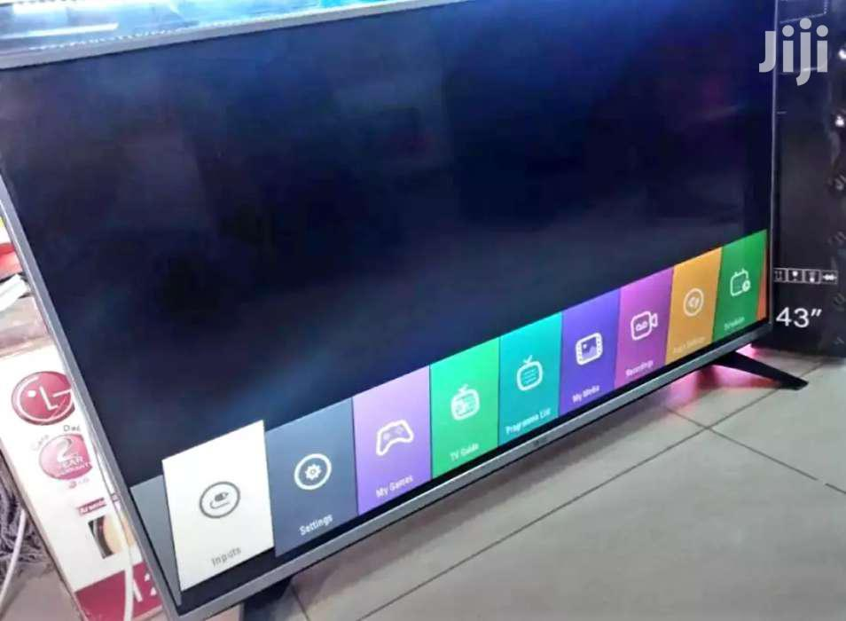 LG Flat Screen TV 43 Inches