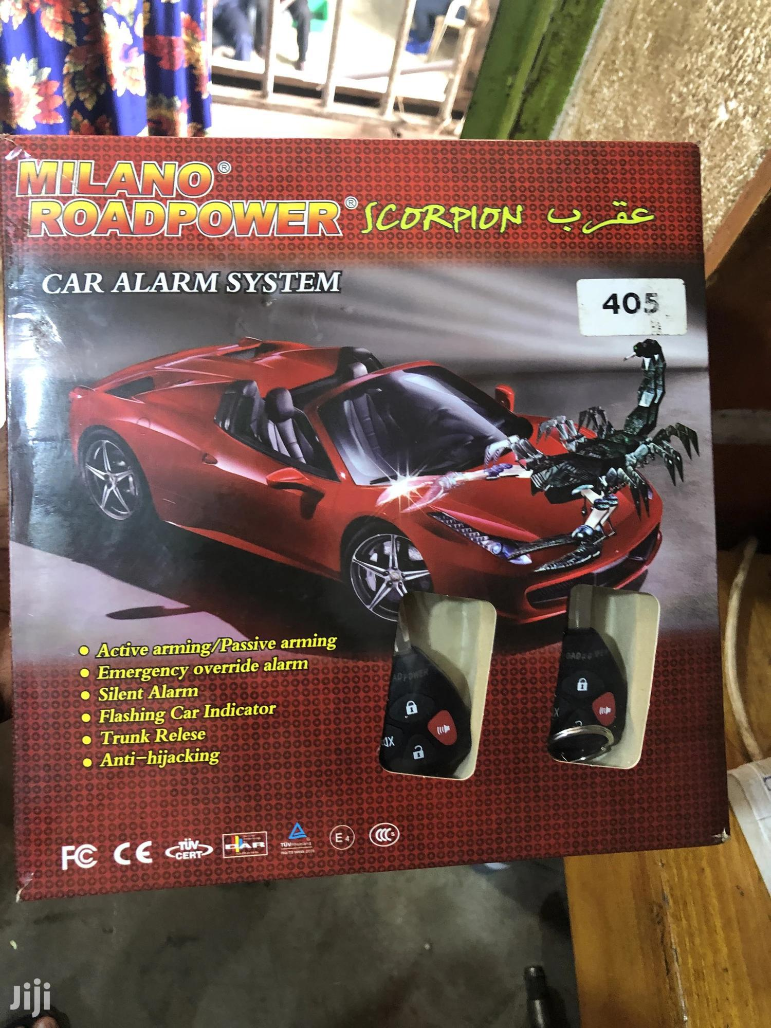 New Scorpion Milano Key Alarm System | Vehicle Parts & Accessories for sale in Kampala, Central Region, Uganda