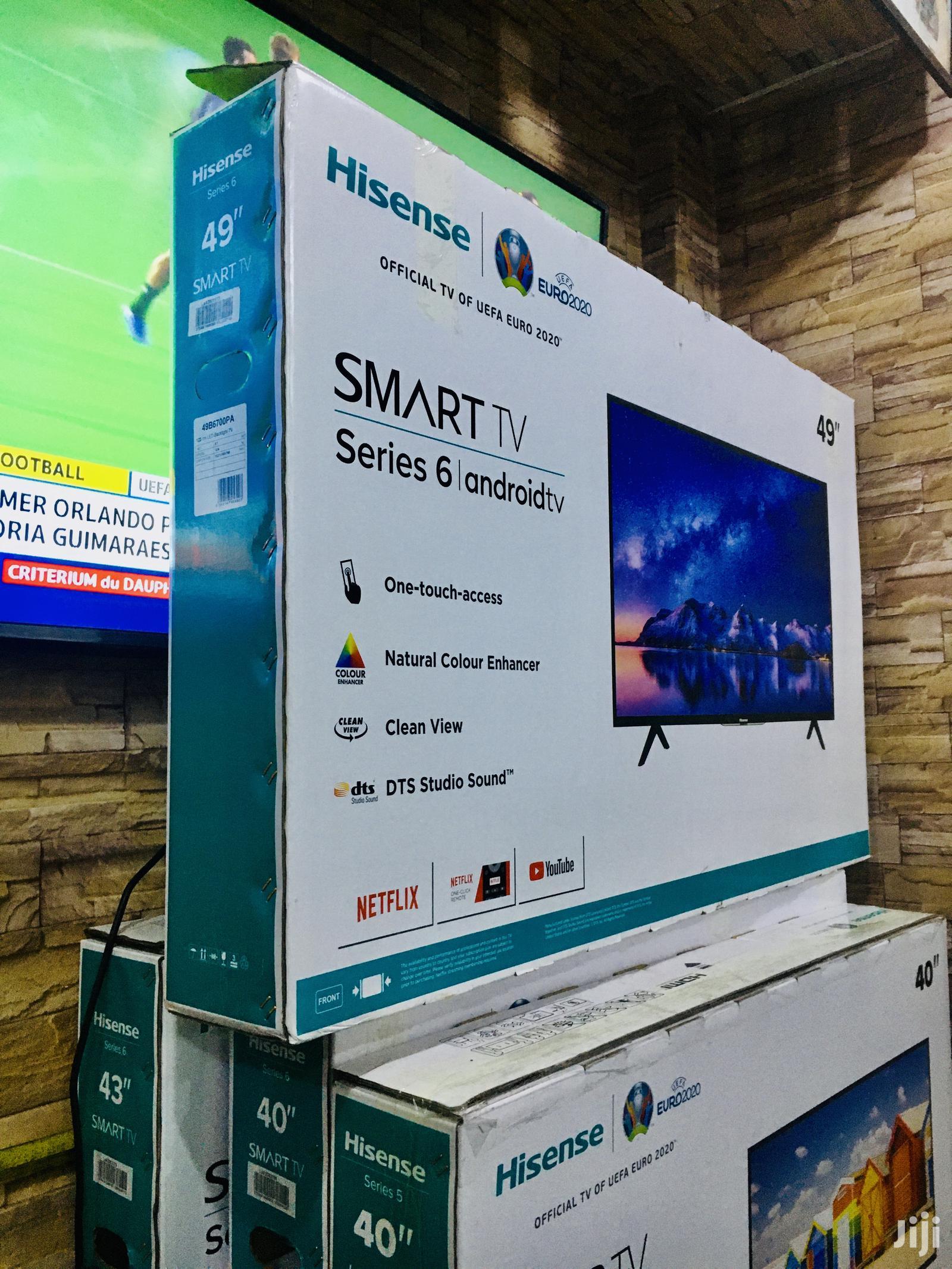Hisense 49 Inch Smart Tv | TV & DVD Equipment for sale in Kampala, Central Region, Uganda