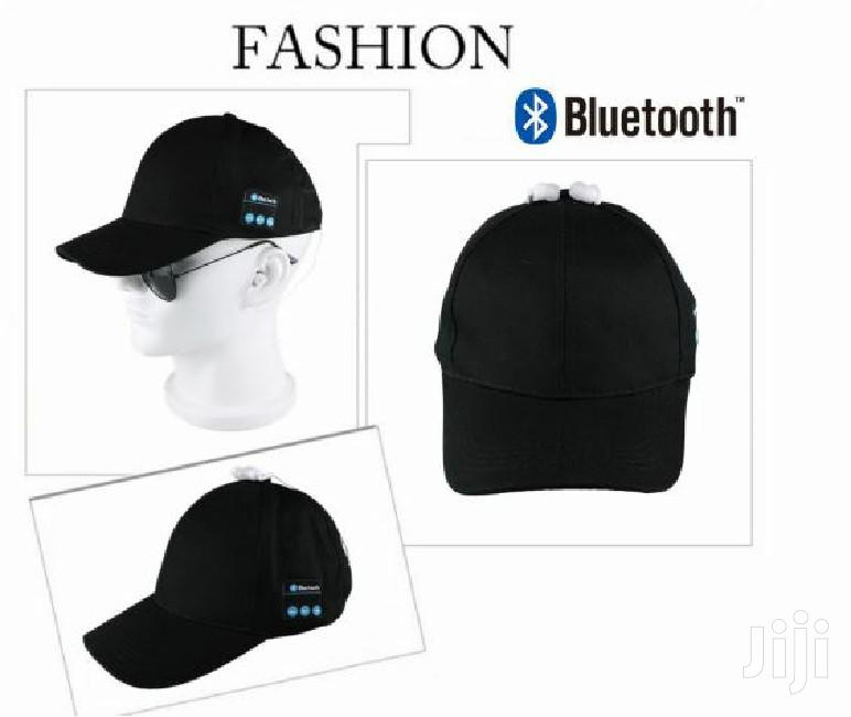 Bluetooth Baseball Cap Headset With Mic - Black | Accessories for Mobile Phones & Tablets for sale in Kampala, Central Region, Uganda