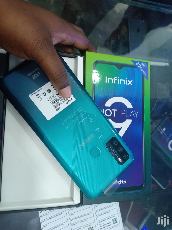New Infinix Hot 9 Play 32 GB Blue