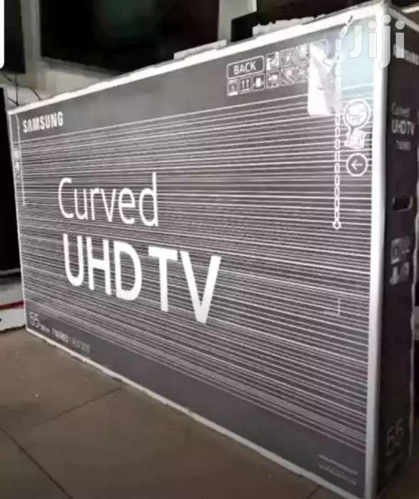 Samsung Curved Smart UHD 4k TV 55 Inches