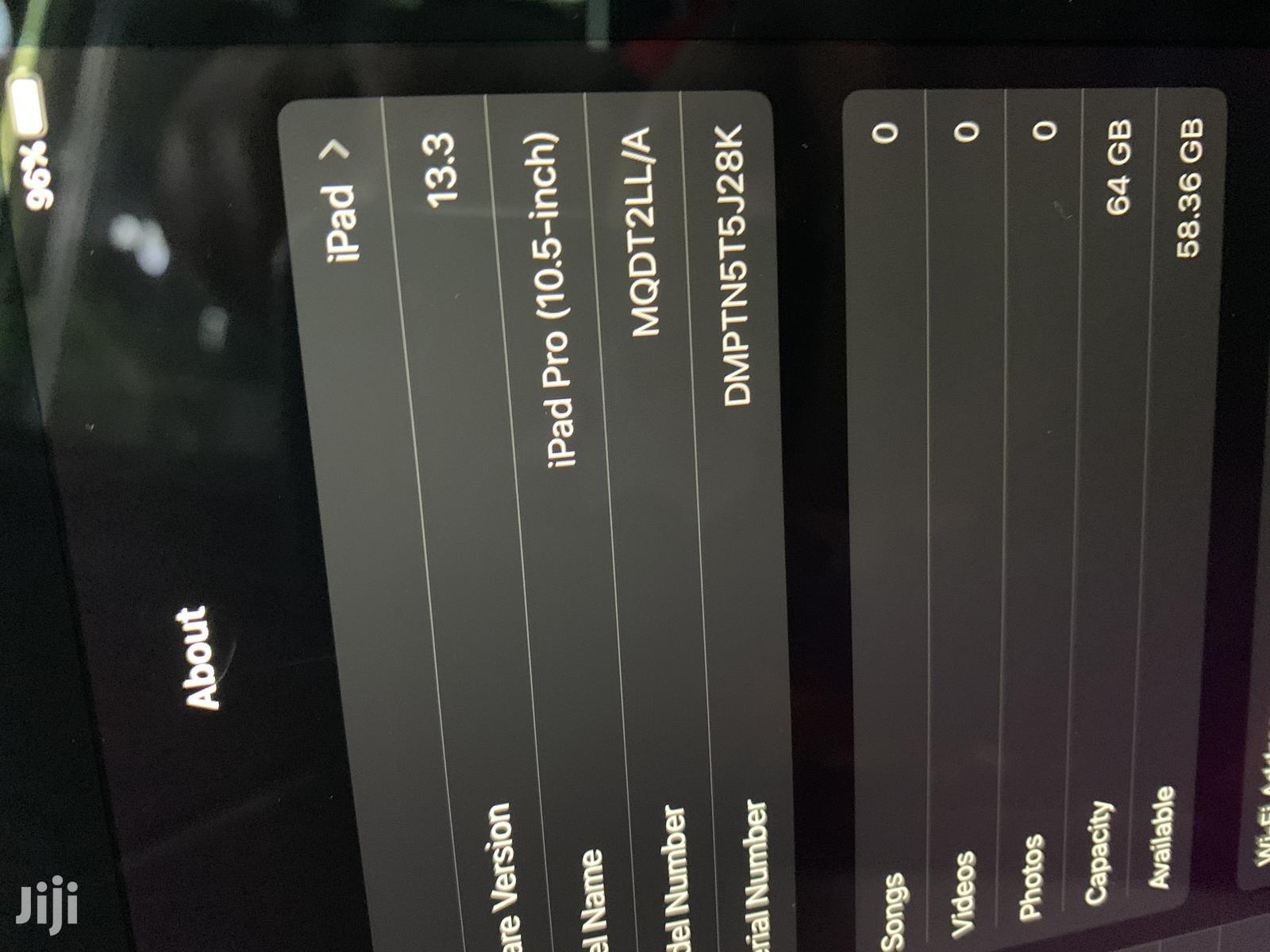 Apple iPad Pro 10.5 64 GB Gray | Tablets for sale in Kampala, Central Region, Uganda