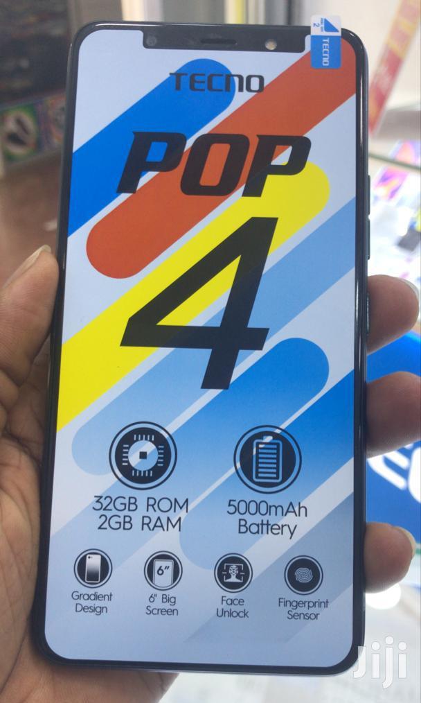 New Tecno Pop 4 32 GB Black   Mobile Phones for sale in Kampala, Central Region, Uganda