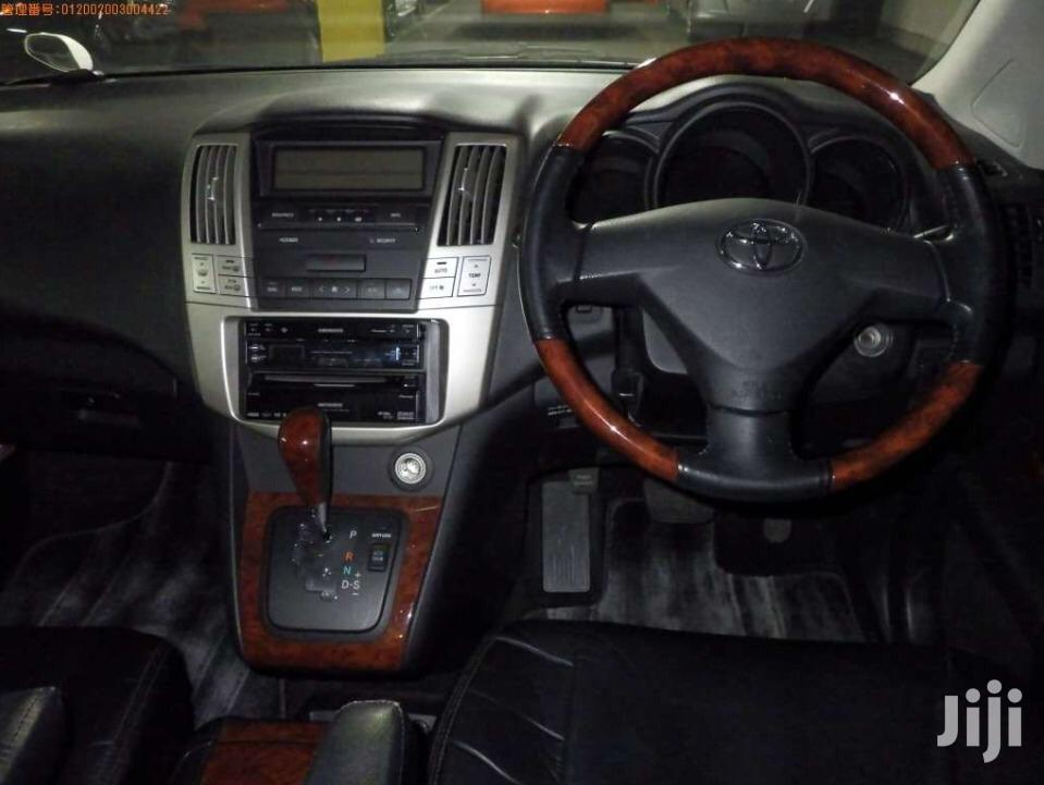 Archive: Toyota Harrier 2007 Black